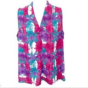 Laundry by Shelli Segal Tie Dye Print Tank Top